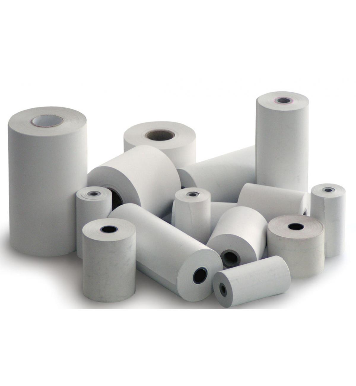 Θερμικά ρολλά λευκά